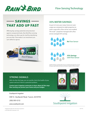 Flow Sensor Flyer (Digital)